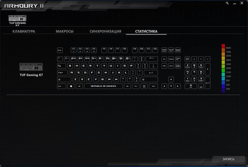 Обзор ASUS TUF Gaming K7: молниеносная игровая клавиатура с пыле- и влагозащитой-34