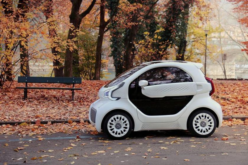 LSEV: первый в мире серийный электромобиль, который печатают на 3D-принтере