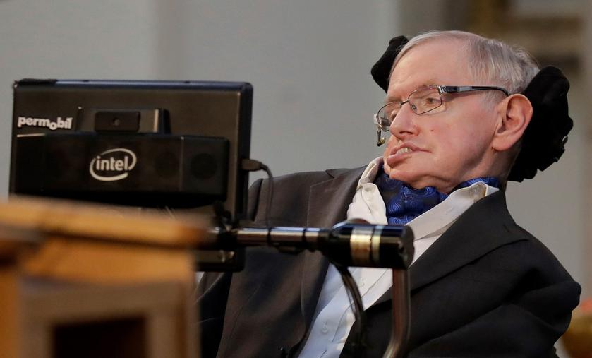 The famous physicist Stephen Hawking died, he was 76 years old