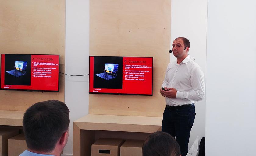 Обновлённая серия бизнес-ноутбуков Lenovo ThinkPad уже в Украине
