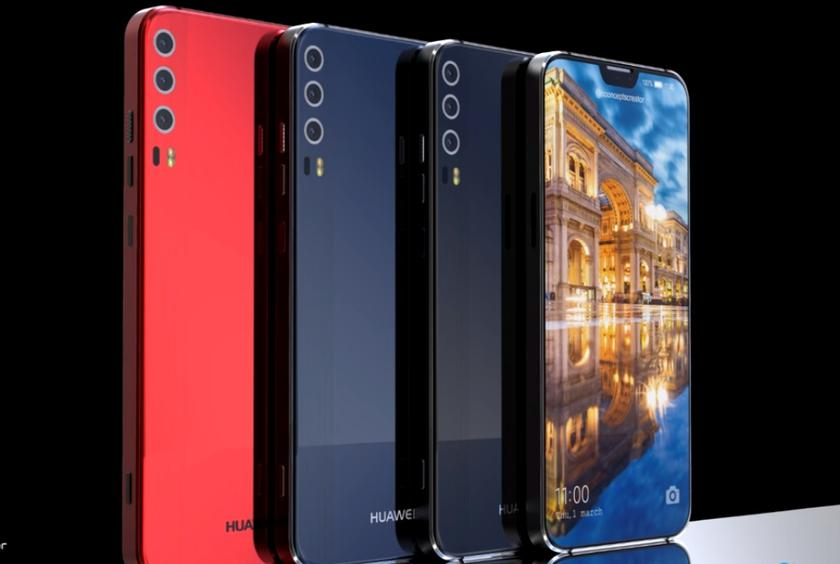 New images of Huawei P20 (P11) with three cameras