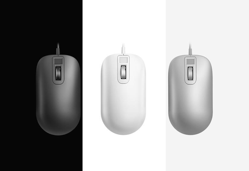 Компания Xiaomi создала мышь сдактилоскопическим сканером