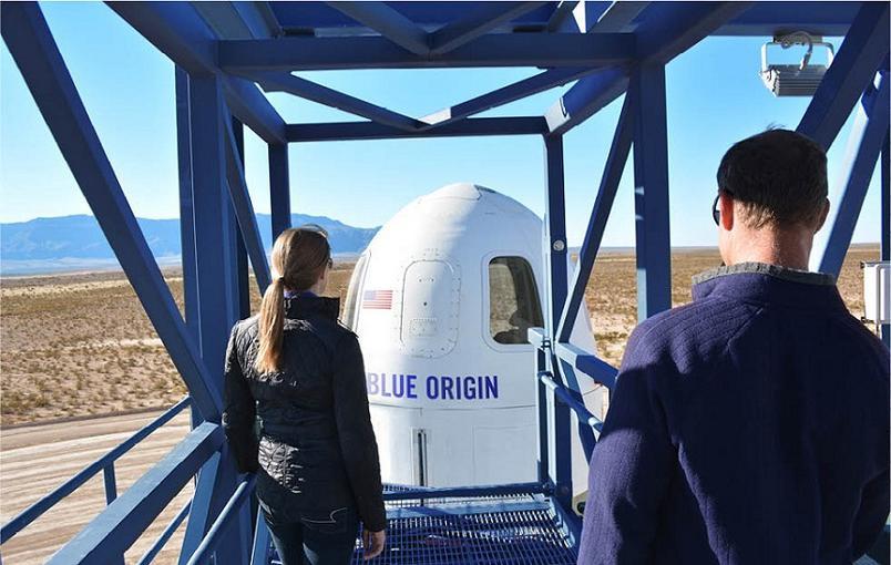 Blue Origin строит дополнительно три орбитальные ракеты для космических туристов