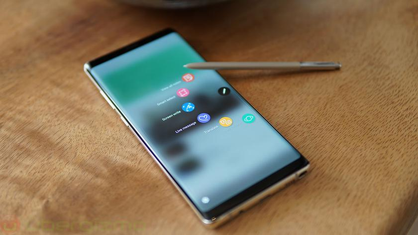 Samsung Galaxy Note8 started to upgrade to Android 8.0 Oreo