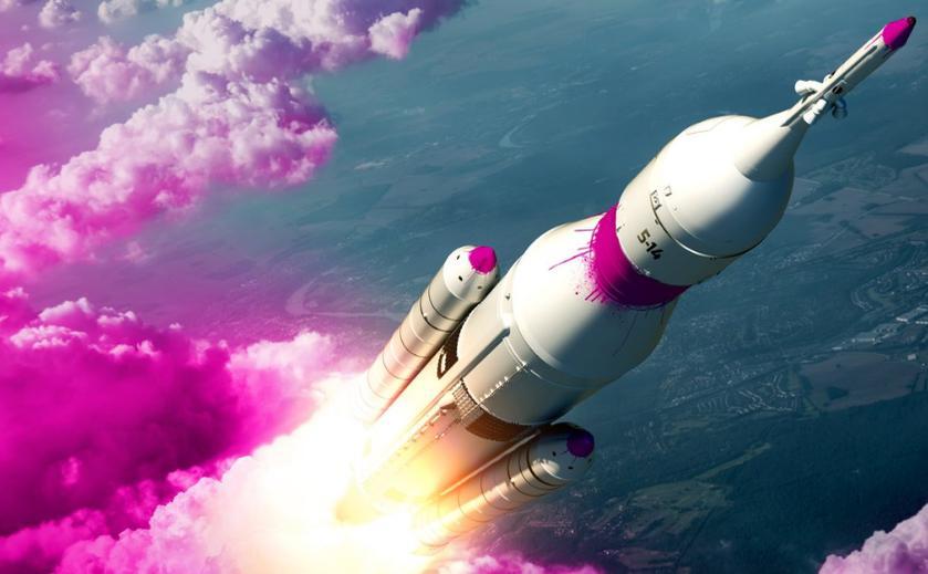 Bethesda тизерит новую игру спомощью ракеты спурпурным дымом