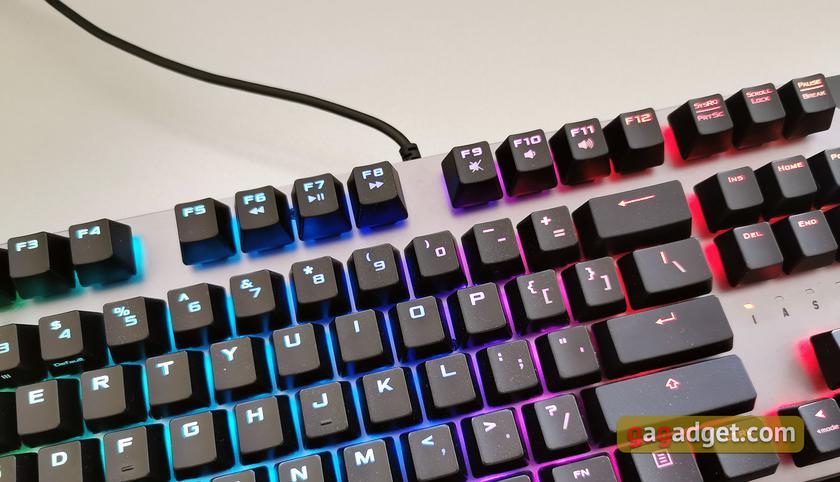 Обзор ASUS TUF Gaming K7: молниеносная игровая клавиатура с пыле- и влагозащитой-6