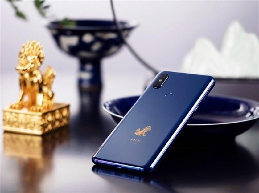 Xiaomi выпустит специальную версию Mi Mix 3 Forbidden City Edition в декабре