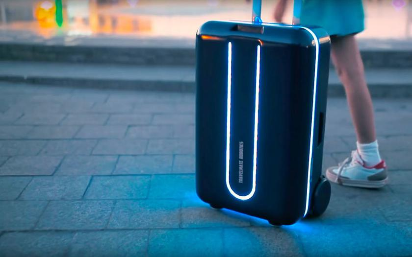 Travelmate - unmanned suitcase for $ 1100