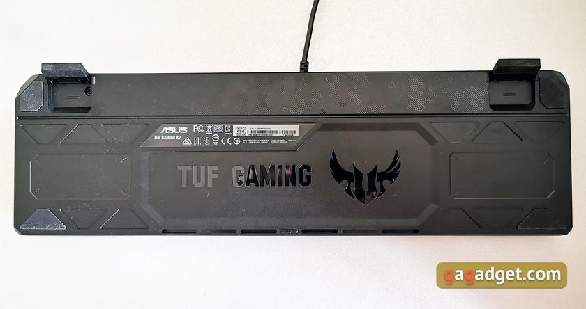 Обзор ASUS TUF Gaming K7: молниеносная игровая клавиатура с пыле- и влагозащитой-12