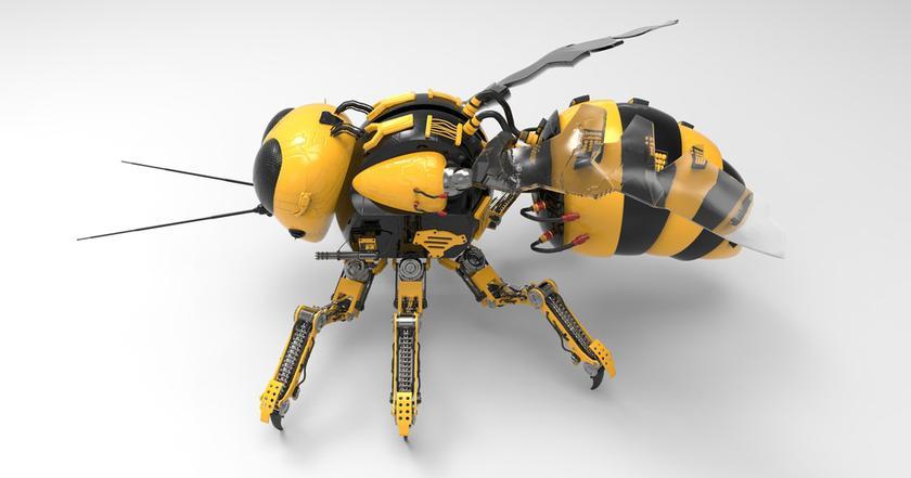 Это не«Черное Зеркало»: Walmart будет производить механических пчел