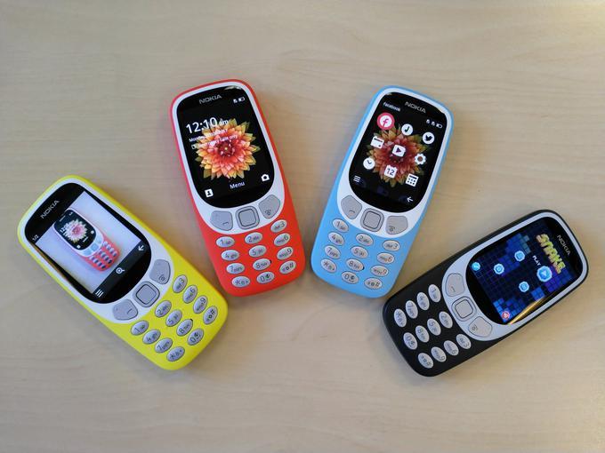 Нокиа 3310 будет поддерживать работу ссетями 3G
