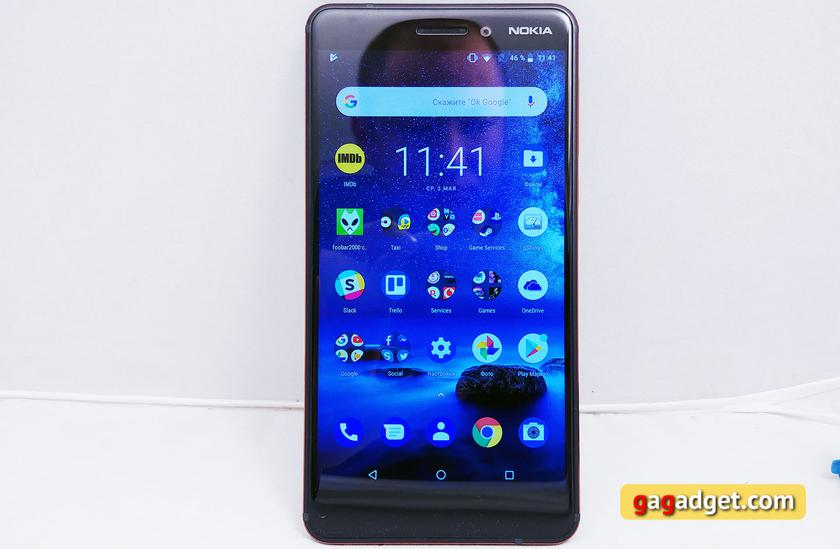 Обзор Nokia 6.1 (2018): стильно и недорого-5