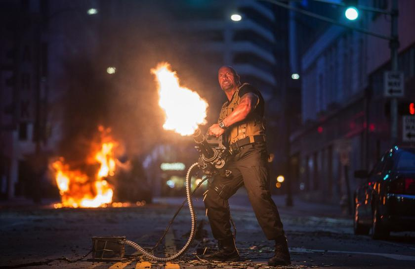 "The second trailer of the movie ""Rampage"" was released: megazveri and Dwayne ""Rock"" Johnson"