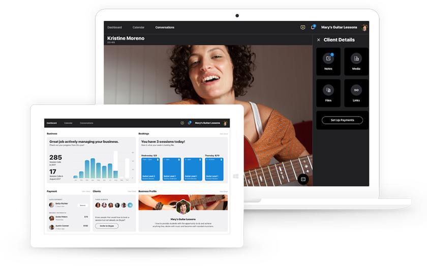 Skype выпустил специальную версию для фрилансеров с календарем и платежной системой