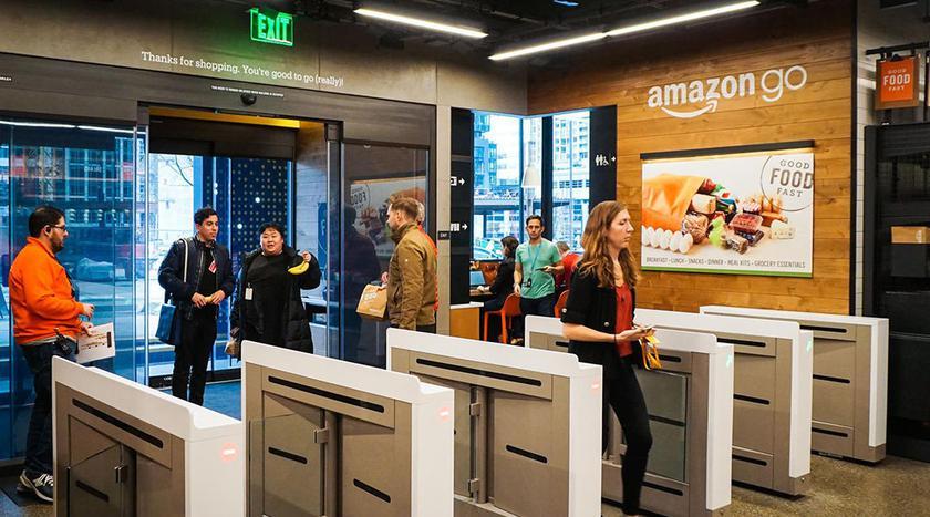 Магазин будущего Amazon Go открывается для всех желающих