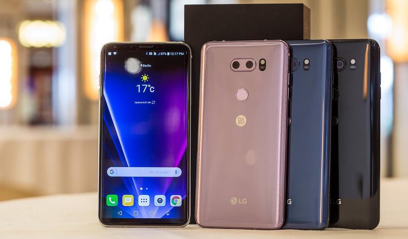 В июне LG представит смартфон LG V35 и еще ряд новинок