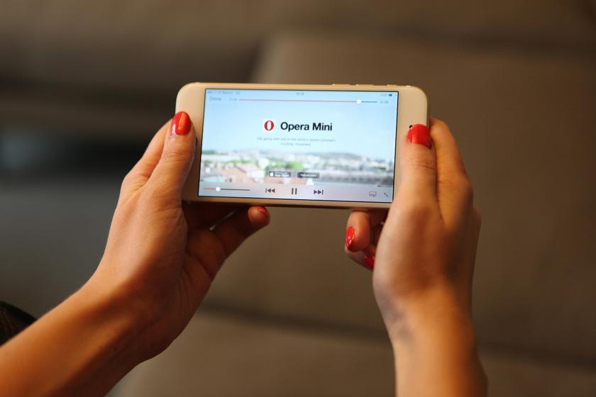 Opera защитит мобильные телефоны отскрытого майнинга