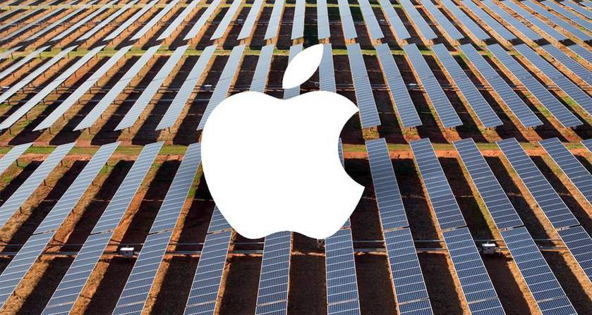 Apple завершила переход на возобновляемые источники энергии
