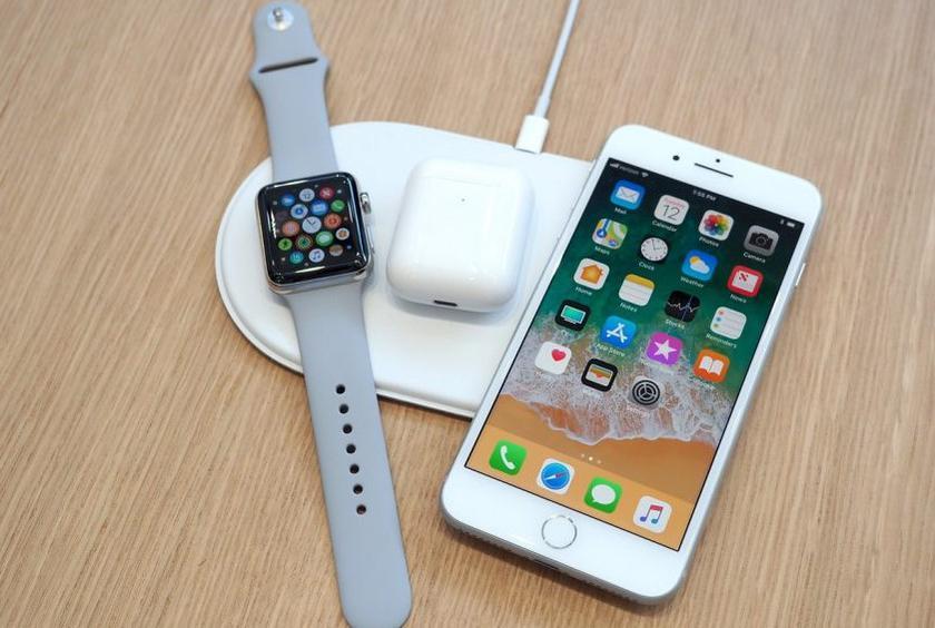 Слух: названа дата выхода беспроводной зарядки AirPower отApple