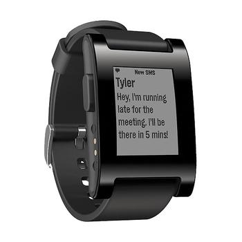 Pebble Watch Jet Black