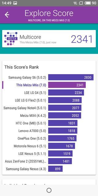 Обзор Meizu M6s: первый смартфон Meizu c экраном 18:9 и новым процессором Exynos-66