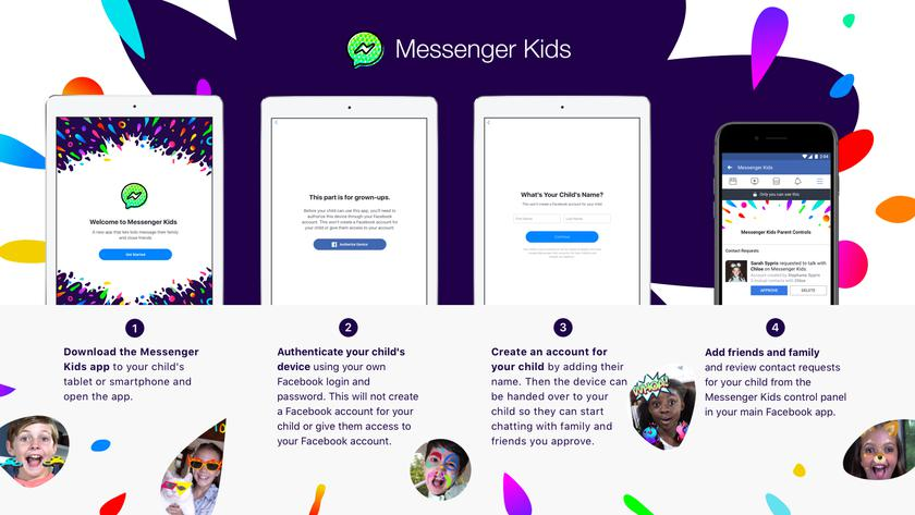 Facebook launched messenger for children Messenger Kids