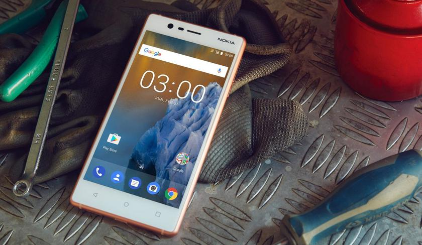 Smartphone Nokia 3.1 2018 was lit with Android 8 Oreo on board