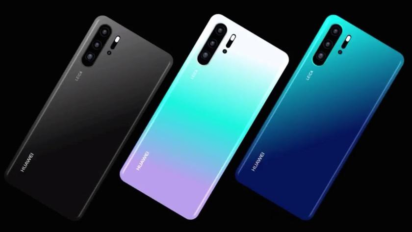 New details about Huawei P30 and P30 Pro: other displays and cutouts and more cameras