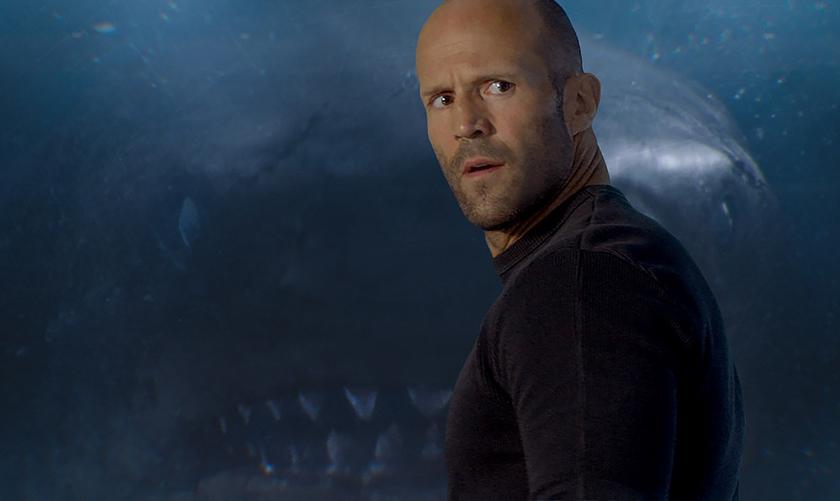 Первый трейлер фантастического фильма «МЭГ»: Джейсон Стэйтем против гигантской акулы