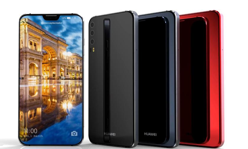 The three-chamber flagship Huawei P11 appeared on video