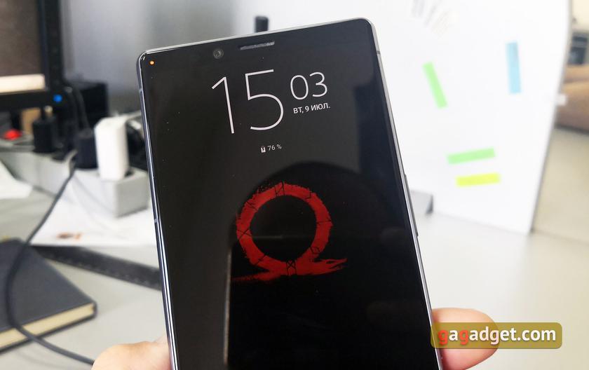"Обзор Sony Xperia 1: ""высокий"" флагман с 4K HDR OLED дисплеем-6"