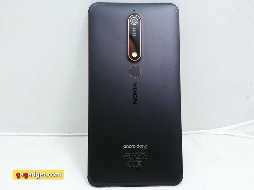 Обзор Nokia 6.1 (2018): стильно и недорого-15