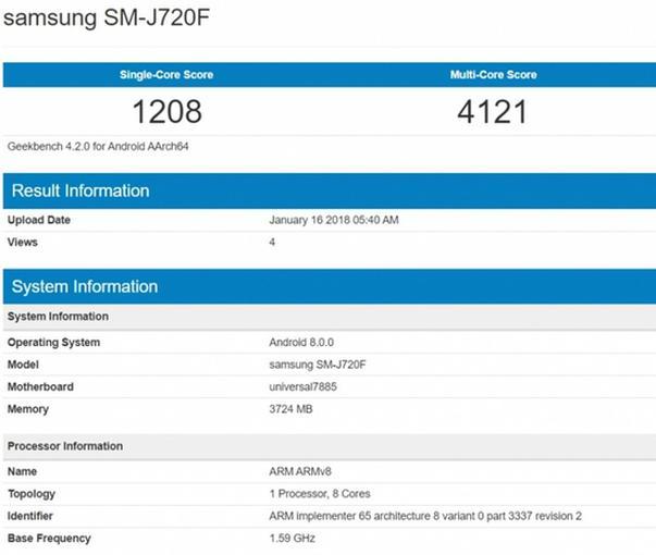 Samsung Galaxy J8 (2018) geekbench.jpg