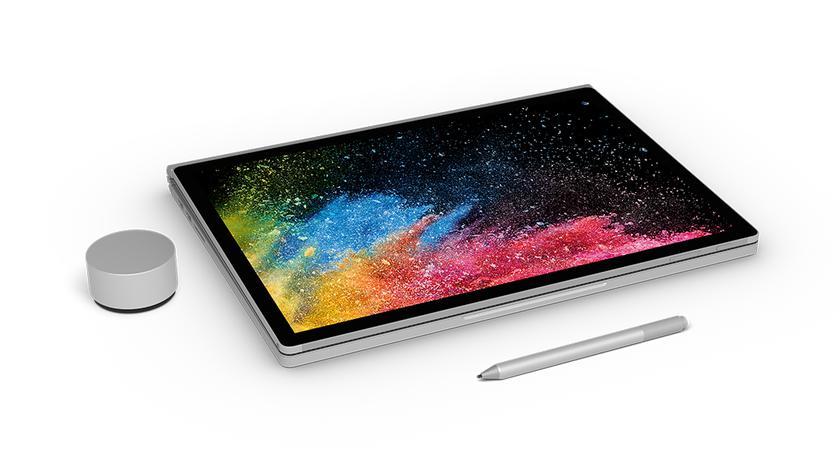 Surface Book 2 нехудший поремонтопригодности влинейке устройств Microsoft