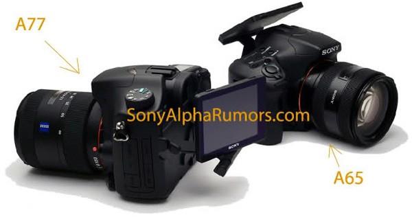 Первые фотографии и технические характеристики «гибридных зеркалок» Sony Alpha SLT-A77 и SLT-A65