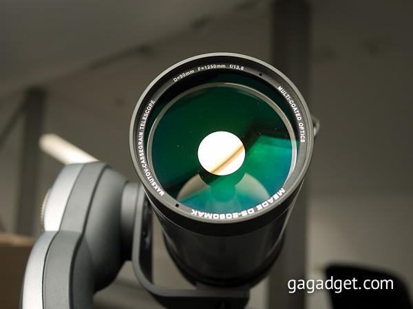 Знакомство с телескопом