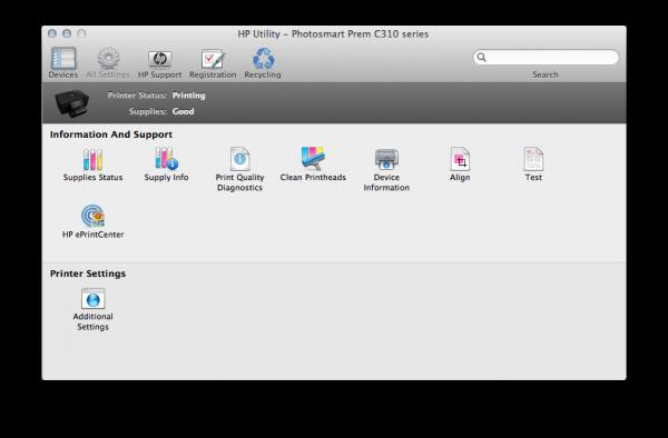 Обзор струйного МФУ с поддержкой AirPrint HP Photosmart Premium C310 -9