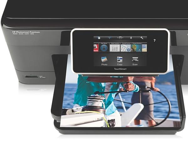 Обзор струйного МФУ с поддержкой AirPrint HP Photosmart Premium C310 -3