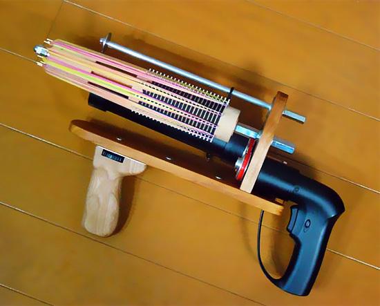 Как сделать оружие из дерева в домашних условиях