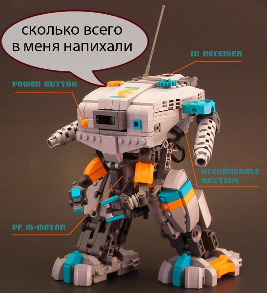 Роботы LEGO теперь дистанционно управляются со смартфонов