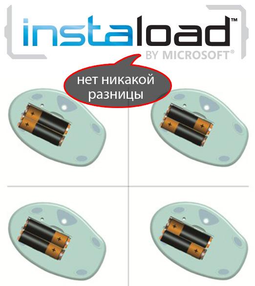 Microsoft Instaload: революция в производстве батареек