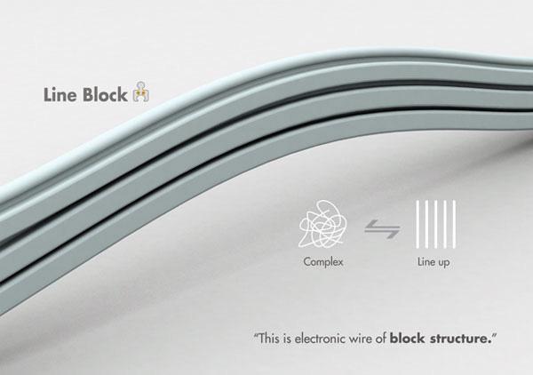 Line Block: концепт для маркетинга кабелей
