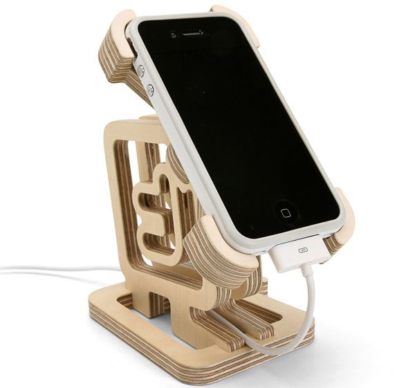 Подставка под мобильный телефон своими руками