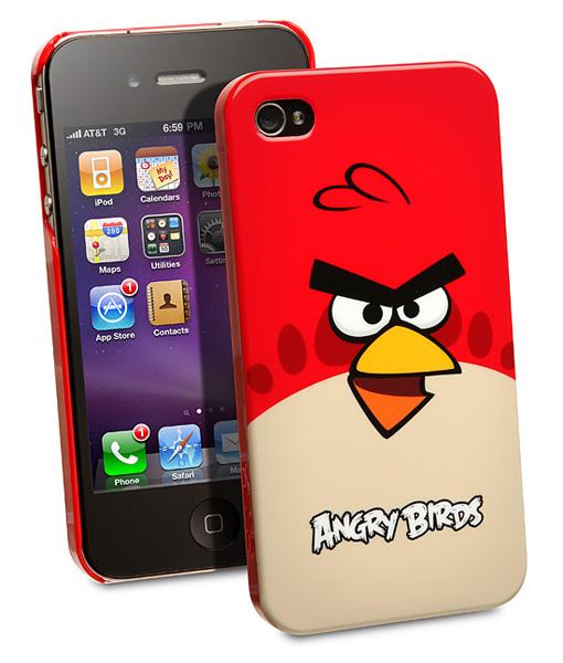 Чехлы для телефона в стиле Angry Birds.