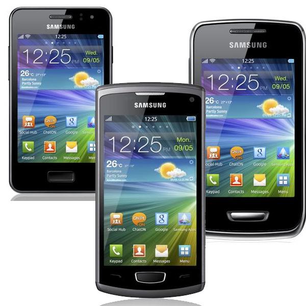[Новости] Новые бюджетники: Samsung Wave M и Samsung Wave Y на bada 2.0