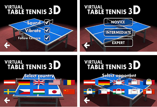 Скачать Virtual Table Tennis 3D Pro На Андроид