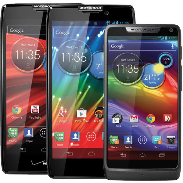 Motorola RAZR M, RAZR HD, DROID MAXX HD: больше экран, больше автономности!