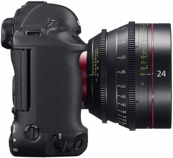 Canon EOS-1D C: цифровая зеркалка с видеосъемкой в разрешении 4K за $15000-8
