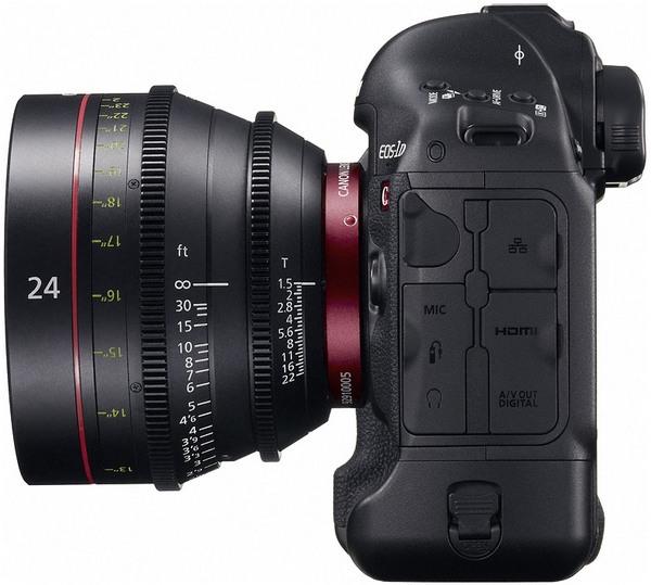 Canon EOS-1D C: цифровая зеркалка с видеосъемкой в разрешении 4K за $15000-9