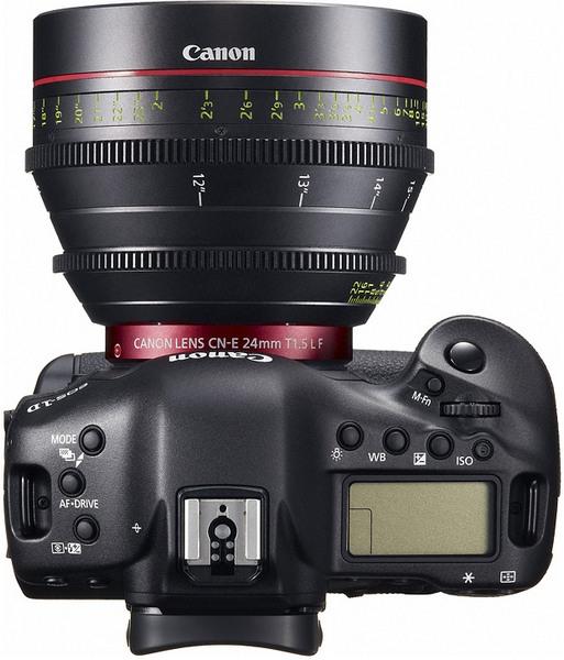 Canon EOS-1D C: цифровая зеркалка с видеосъемкой в разрешении 4K за $15000-7